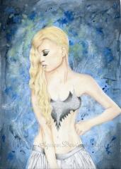 Az éj tündére - Dark Night Fairy by Agnes Buronyi