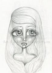 Sad eyes_Art By Agnes