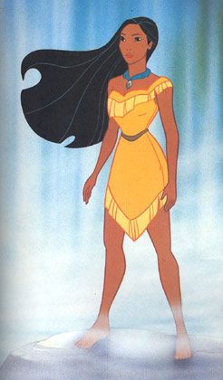 Pocahontas-Disney-Hercegnő