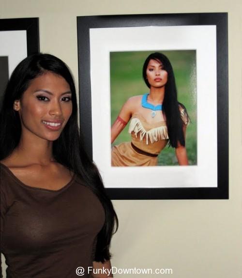 Az élő Pocahontas