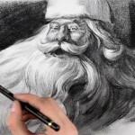 Hogyan rajzoljunk Mikulást
