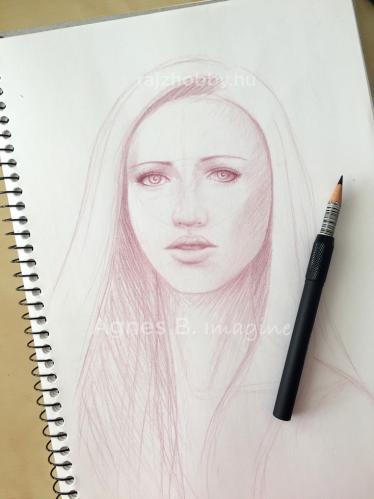 Portré vázlat