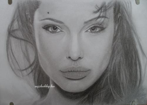 Portrérajz_Angelina