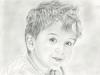 Portrérajz rendelésre_kisfiú by Agnes Buronyi