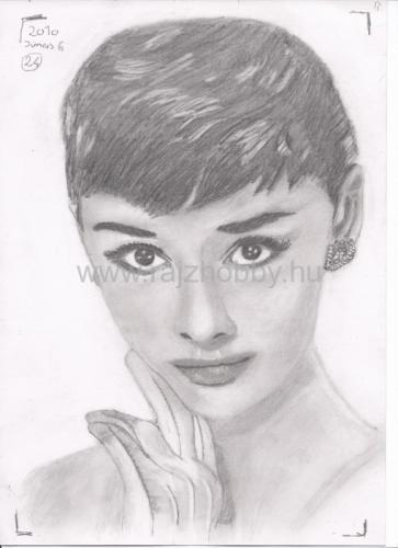 Portrérajz, Audrey Hepburn