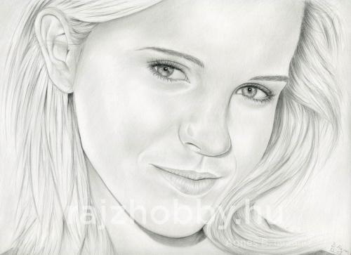 Emma Watson portré